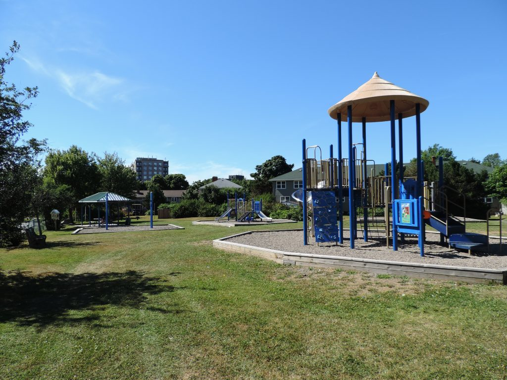 Covered Picnic area and playground