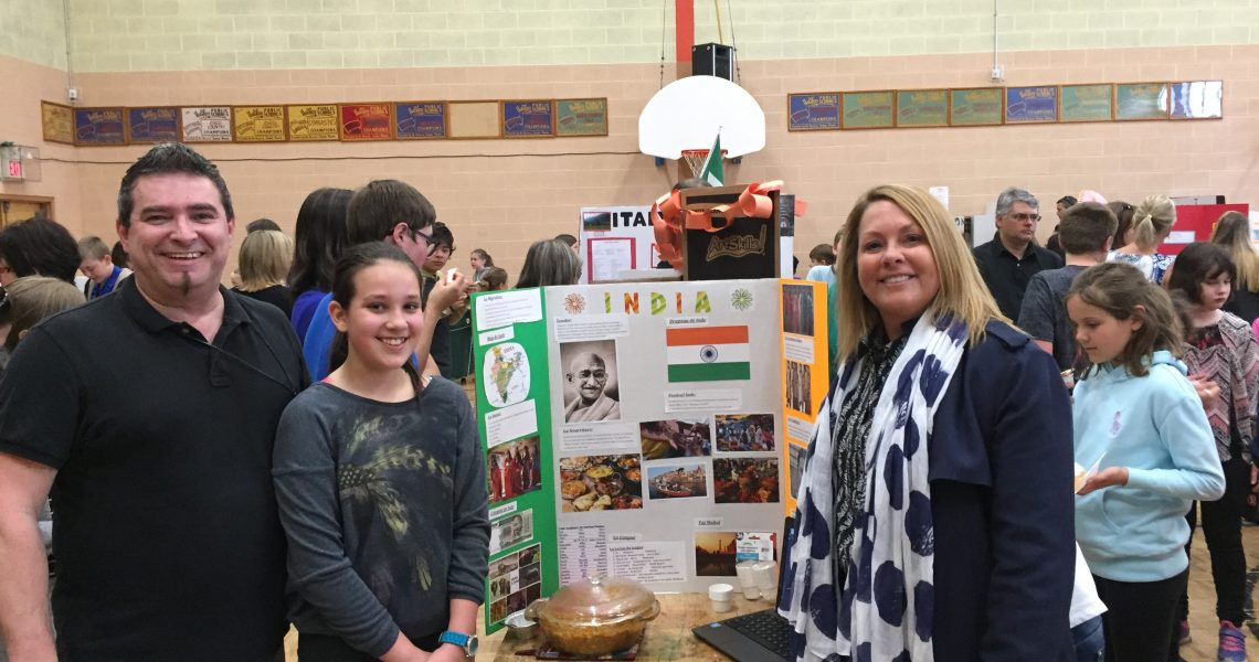 John W MacLeod Elementary School Science Fair 2016
