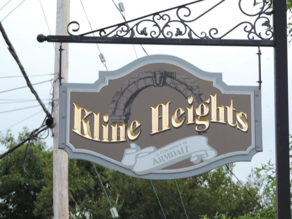 Kline Heights Sign