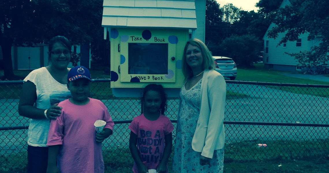 Set up three little libraries in Bayers Westwood area