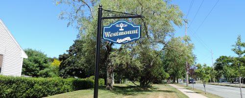 Westmount Sign