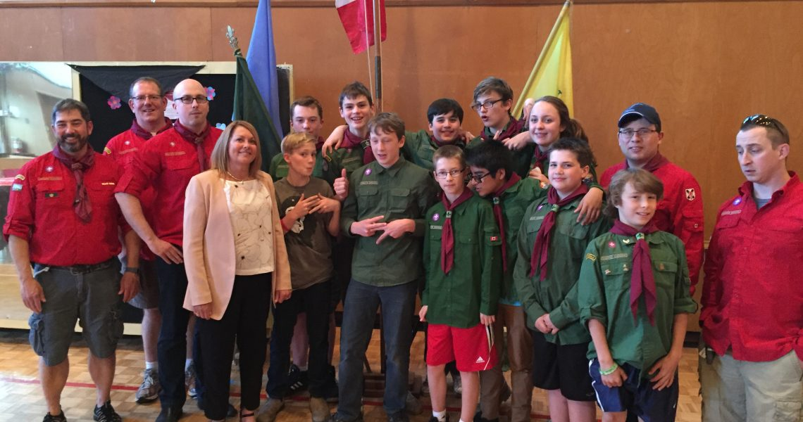 Year end 1st Armdale Scouts banquet